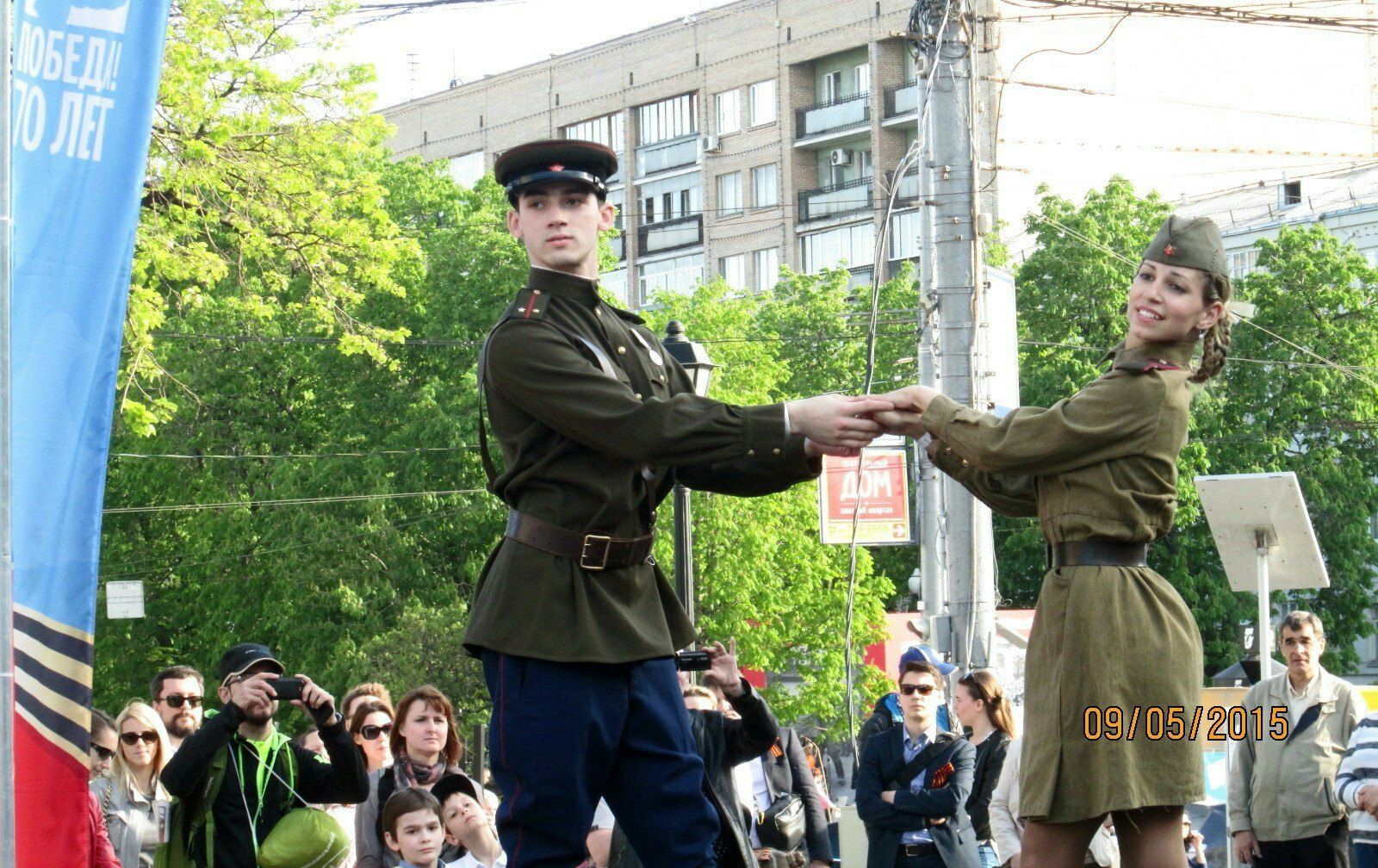 ee5d3e29633d Танец «Синий платочек» к 9 мая   Танцевальное шоу «Valery»