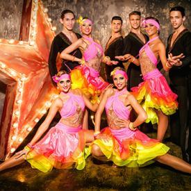Латиноамериканские танцы в Москве. Танцевальный шоу-балет Valery