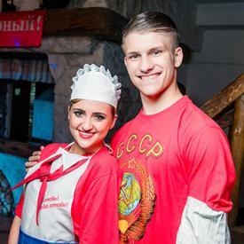 Танцы времен СССР в исполнении Шоу-балета «Valery»