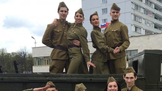Танцевальный шоу-балет «Valery». Шоу-программа на праздник 9 мая