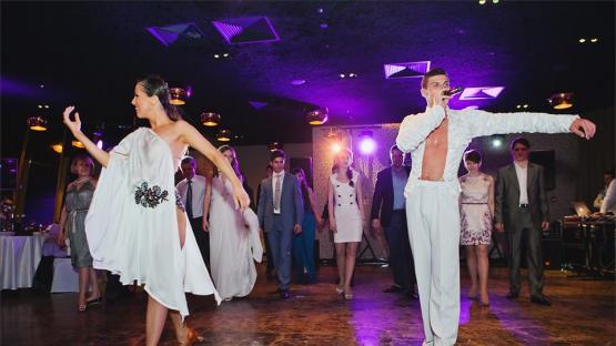 Танцевальный флэшмоб на свадьбе