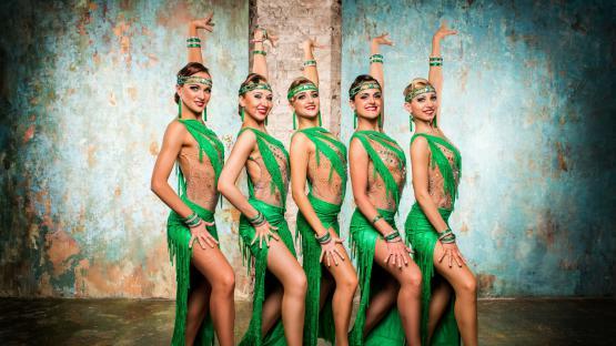 «Ча-Ча-Ча» - Латиноамериканский танец. Танцевальный номер от шоу-балета «Valery»
