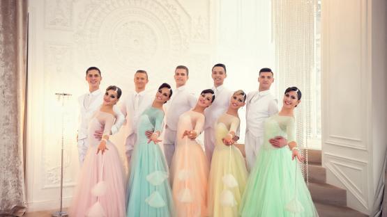 Бальный танец «Квик Степ». Танцевальный коллектив Валери