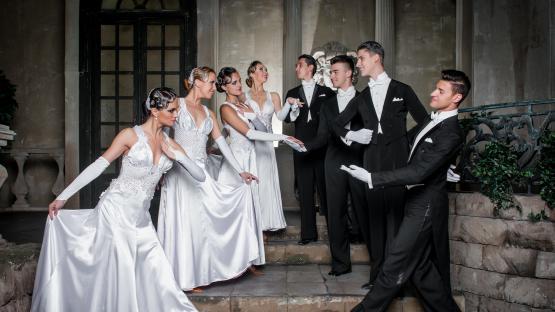 """Французский бальный танец «Менуэт» в исполнении танцоров """"Valery"""""""