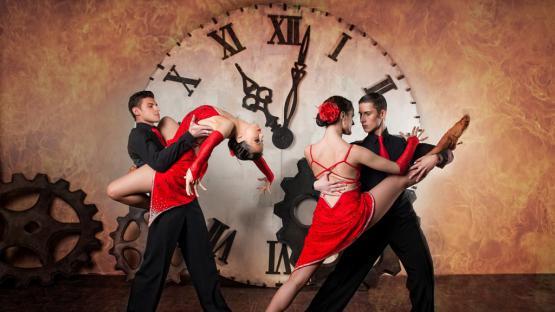 Танцевальный номер «Аргентинское Танго» в исполнении шоу-балета Valery