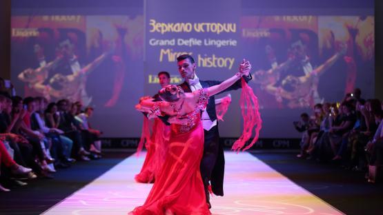 «Танго» - классический бальный танец. Танцевальный ансамбль Valery