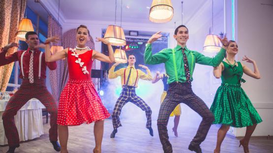 Танец «Буги-Вуги» в исполнении Шоу-балета «Valery»