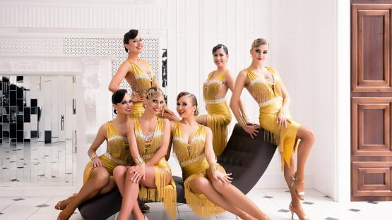 «Джайв» - танец шоу-программы по латиноамериканским бальным танцам. Шоу-балет Valery