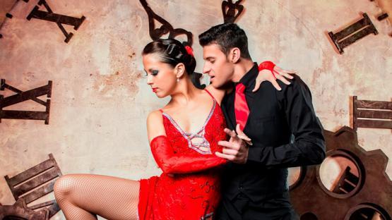 Танец «Аргентинское Танго» в исполнении танцоров Valery