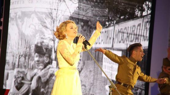 Военный танец под песню Клавдии Шульженко «Эй, Андрюша». Танцевальный коллектив «Valery»