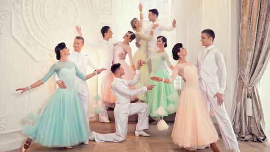 Бальный танец «Квик Степ». Танцевальный коллектив Valery