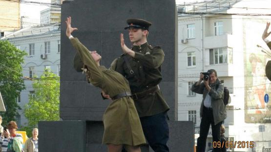 Танцевальный коллектив «Валери». Шоу-программа на праздник 9 мая