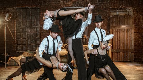 Танец в стиле «Чикаго» 30-х годов. Танцевальная шоу-программа на праздник от шоу-балета Валери