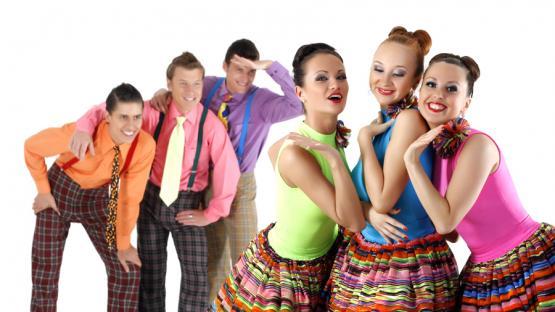 Танец Стиляги.  Шоу-программа на корпоратив, день рождения или юбилей в Москве