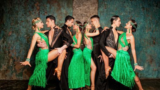 Латиноамериканские танцы в Москве. Танцевальное шоу Valery