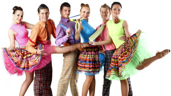 Тематическая вечеринка в стиле Стиляг.  Шоу-программа на корпоратив, день рождения или юбилей в Москве