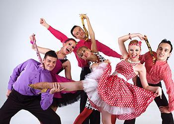 Танец в стиле Стиляг.  Шоу-программа на свадьбу, корпоратив, день рождения или юбилей в Москве