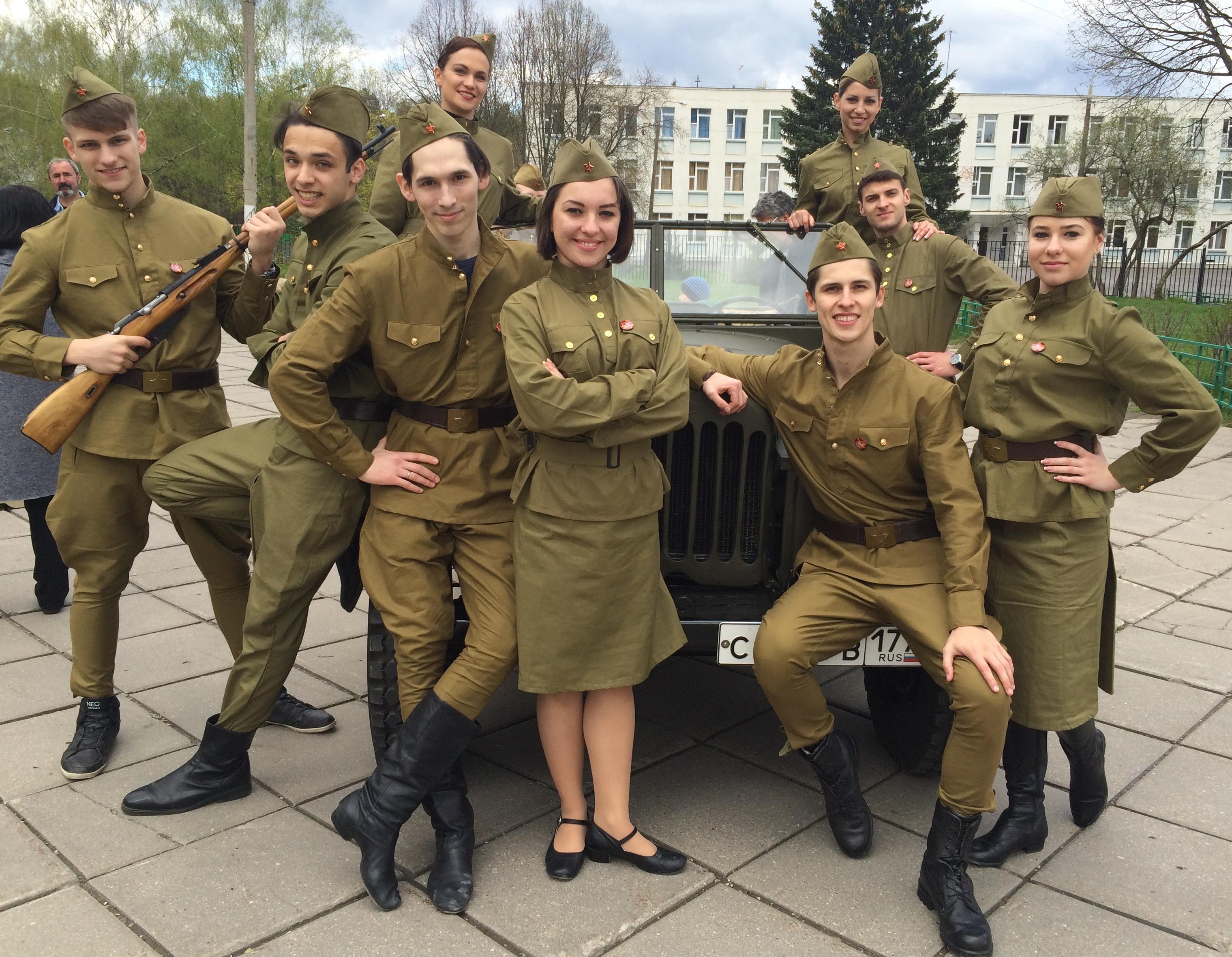 День девушек ждущих солдат